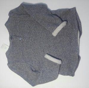GAP Shirts & Tops - NWT Girls Gap Marled Sweater Size 4 Logo 1969